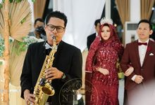 The Wedding of Fiklul & Zein by Nine Entertainment