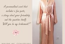 Custom Robes Bride & Bridesmaid gift by Bride be Couture