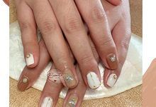 Wedding Nails by beaute by dc