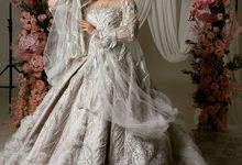 Frozen wood ballgown by O&H Atelier