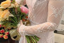 Bride Tery,  June 2019 by by Evadne atelier