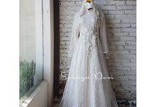 Muslimah Wedding Dress for RENT by Soraya Devi Muslimah Wedding Dress