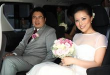 wedding elaine - adrian by paul make up artist