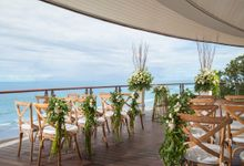 Luxury Double-Six Wedding at Super Penthouse by Double-Six Luxury Hotel Seminyak