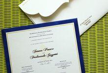 Jemma-Nando Invitation by PAPERLINK