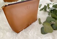 ZIPPER POUCH 2.0 LEATHER by Jakarta Souvenir