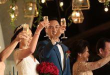 Wedding Day of Richard & Melissa by Puri Santrian Resort