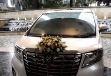 Jessica & Patrick wedding Ayana Midplaza 8 Feb 2020 by Velvet Car Rental