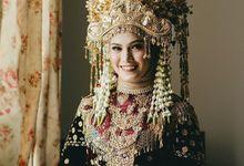 The Wedding of Putri & Rizki by Chandani Weddings