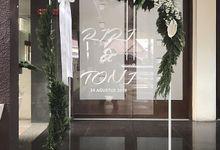 Engagement Riri & Toni by Gempita Deco