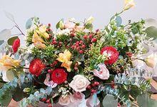 Wedding Of David & Eliz @ Swissotel by Dorcas Floral