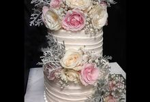 The Wedding Cake Of Nicko & Tsvety by Moia Cake