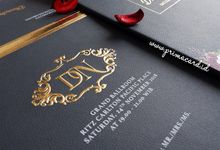 Wedding Invitation of Diandra & Navid by Prima Card