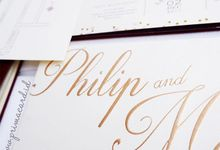 Wedding of Philip & Maureen by Prima Card