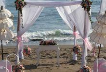 Beach Wedding Ceremony by Bali Wedding Assistant