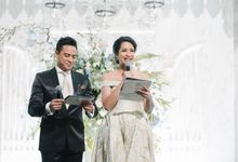 The wedding reception of  Ninik & Arif by Tommy Tjokro