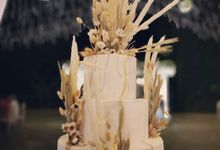 The Wedding Cake Of Irwan & Celia by Moia Cake