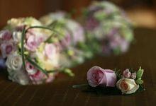 Wedding Flowers Budi & Celine by Blooming Elise Flowers