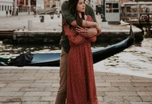 Venice Engagement session by Phan Tien Photography