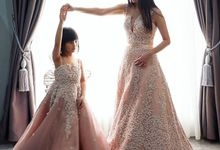 Mom & Kids 3D Dress by METTA FEBRIYAN bridal & couture