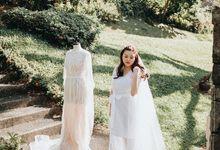 Wedding of Lidya and Jason by Sorelle Robes