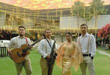 Stephanie and Henri's Wedding  by SaBANDino Band