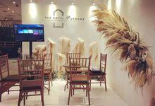 The royal purnama arts suites &villas bali booth by Petunia Decor