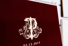 Wedding Invitation of Philip & Maureen by Prima Card