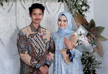 The Engagement of Nazlia & Lingga by La Societa