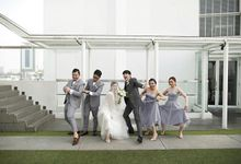Tommy Lim and Anastasia Febri wedding by Amour Management