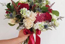Amanda's Wedding by Happyflorals