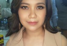 makeup for party by kintan yulita