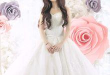 Beauty Shoot by Bridal Art