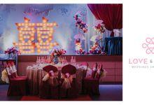 Celebrating Wilson & Mun Yee by Love & Love Wedding Planner