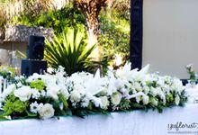 Wedding of Andika & Putri by Bali Yes Florist