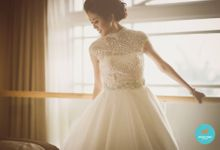 Actual Day Wedding of Kai Wai and Chantalle by Susan Beauty Artistry