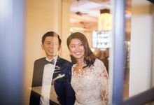 Wedding of Symond & Pei Li @ Halia at Raffles Hotel by The Halia