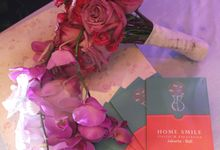 HAND BOUQUET & KORSASE by Home Smile Florist