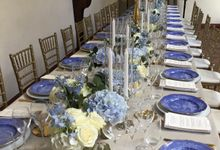 A blue wedding by C&G Wedding and Event Designer