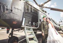 Yoshepine + Alexius Prewedding by Kite Creative Pictures