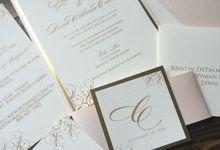 KRISTIN &  DEICH (Elegant Golden Luxury) by Sanggar Undangan