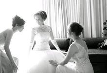 wedding dewi - han han by paul make up artist