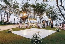 Zhang Jianfeng and Zou Wenying Wedding by Bali Wonderful Decor