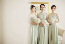 HENGKY CALVINA WEDDING by bridestore indonesia