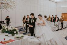 Holy Matrimony & Reception of Adryan & Calandra by  Menara Mandiri by IKK Wedding (ex. Plaza Bapindo)