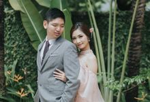 Catherine & Christopher Engagement SANGJIT Day by Amoretti Wedding Planner
