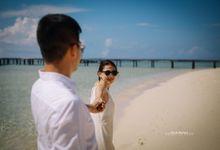 prewedding trip in pulo cinta by keysdunda photography