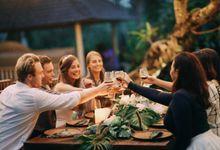 Cheerish Dinner by Villa Santai Ubud by Bali Villas R Us