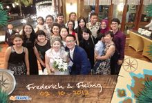 Fred & Fieling Wedding by digiFRAME