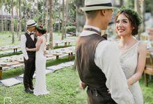 Aum & Best Wedding Ceremony by Makeup by Lamai
